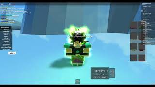 Broly Vs Goku Dragon Ball Super Broly Film (Roblox Version)