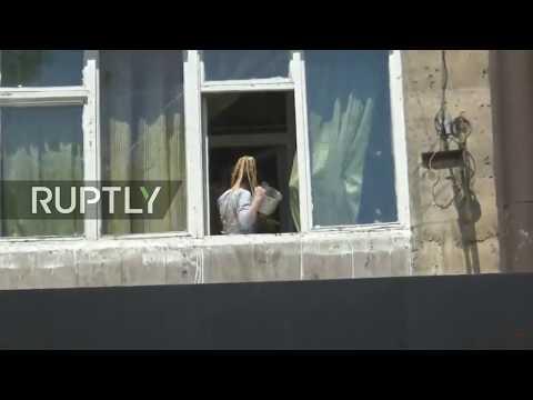 Live: Protests Continue In Yerevan Despite PM Sargsyan's Resignation