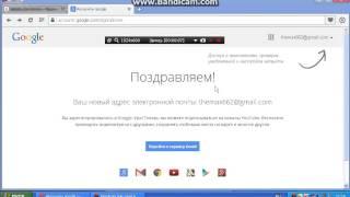 Видео урок !!!! как создать почту Gmail(, 2014-11-23T12:03:40.000Z)