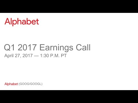 Alphabet 2017 Q1 Earnings Call