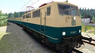 LET´S PLAY Train Simulator 2013 Folge 69 BR 111 blau-beige Expert Line | Aushilfskraft