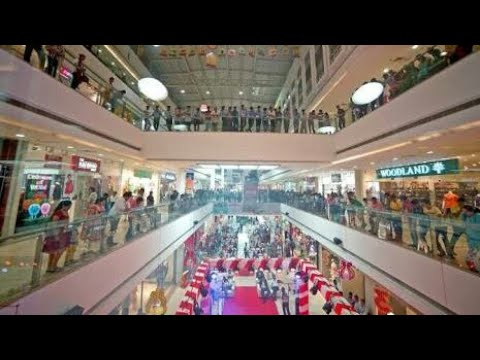 Gujarat's biggest shopping mall... Ahmedabad one mall / Alpha one mall