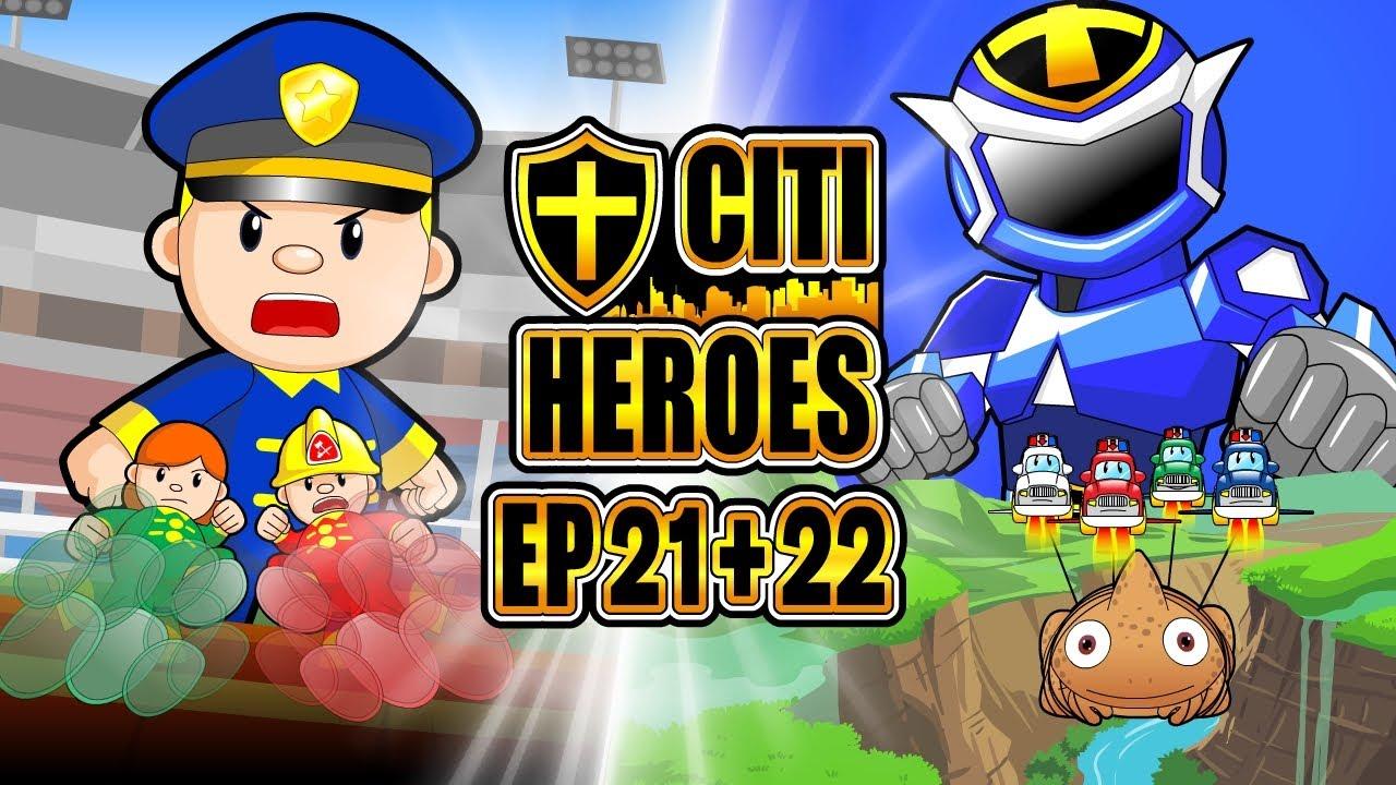 """Citi Heroes EP21+22 """"Robo Armor"""""""