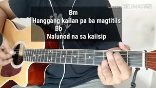 Sa Ngalan Ng Pag-ibig by December Avenue (Guitar Minus One/Instrumental with Guitar Chords)