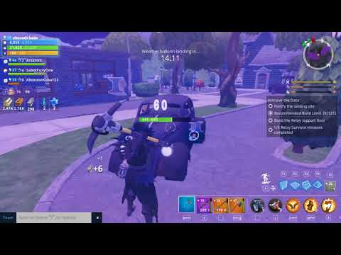 6 Relay Survivor Missions Fortnite Quest #2