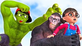 Scary Teacher 3D - Nick Hulk vs Kong - Rescue Tani |VMAni Funny|