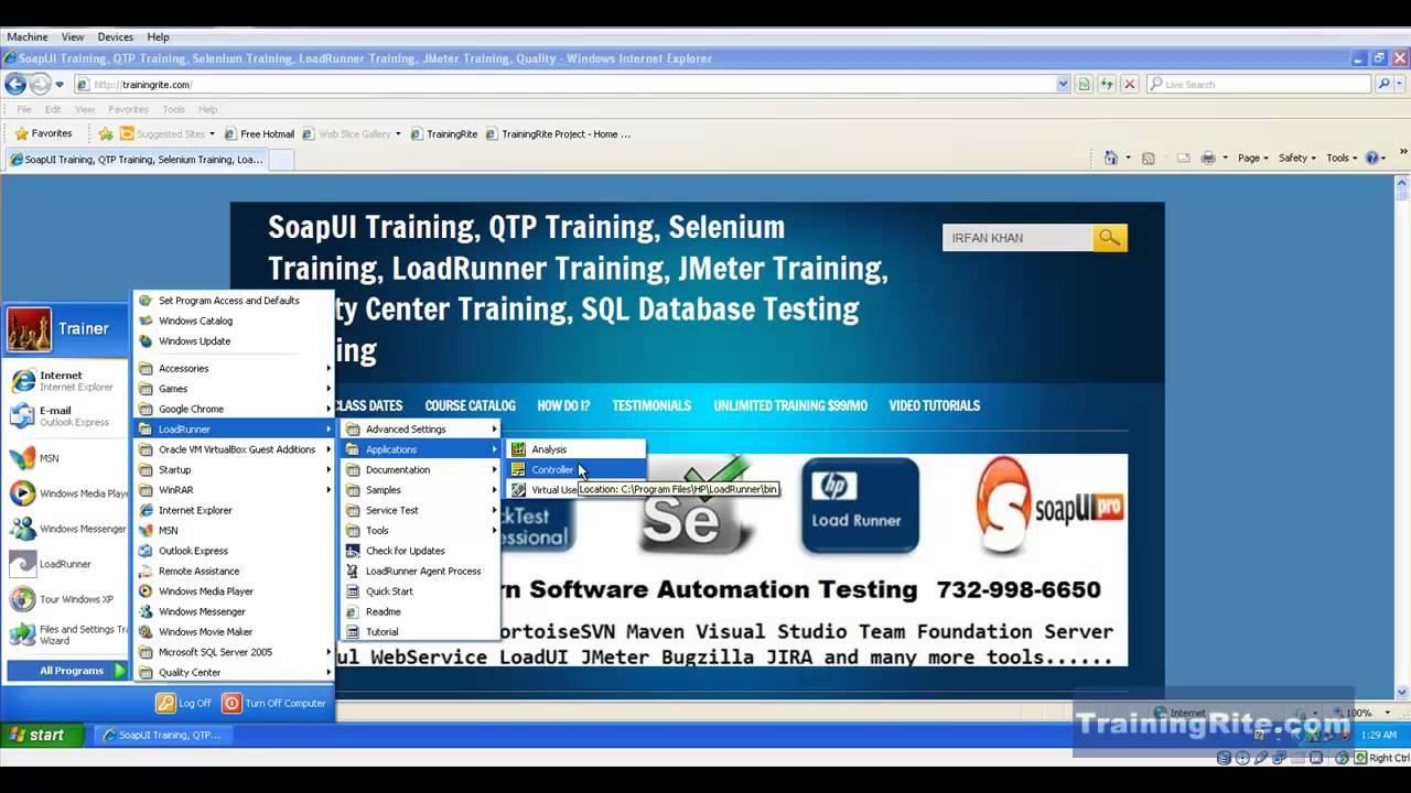 SoapUI Online Training, Selenium Online Training, JMeter Online