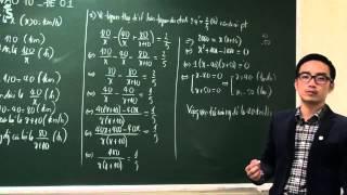 Đề thi thử lớp 10 môn toán 2017 có lời giải chi tiết