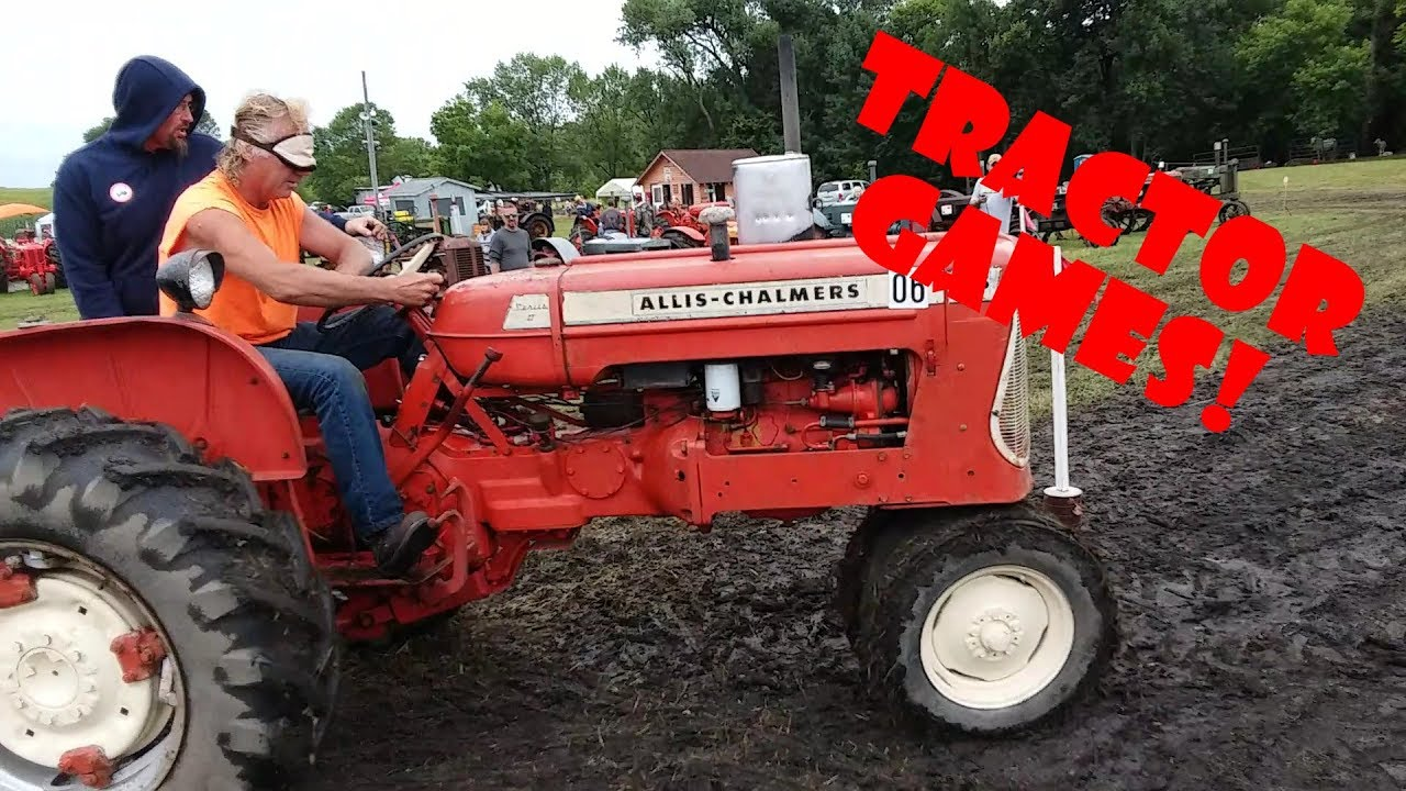 2019 Heatwole Threshing Show Tractor Games