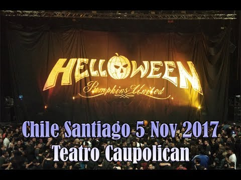 Helloween Pumpkins United- Santiago Chile 5 nov 2017 - Completo!