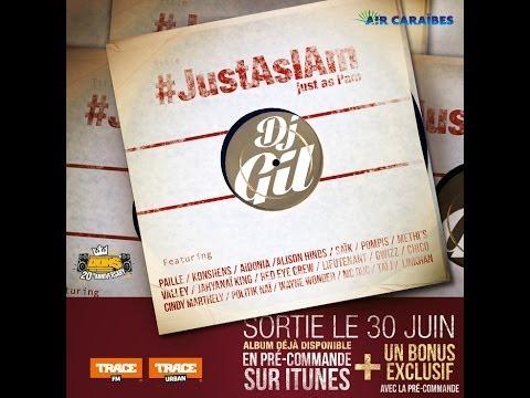 Dj Gil megamix album #JustAsIAm - audio