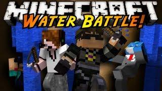 Minecraft Mini-Game : WATER BATTLE!