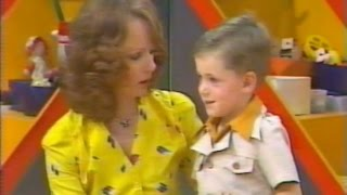 Francis on Romper Room Australia 1979-1980 with Miss Helena