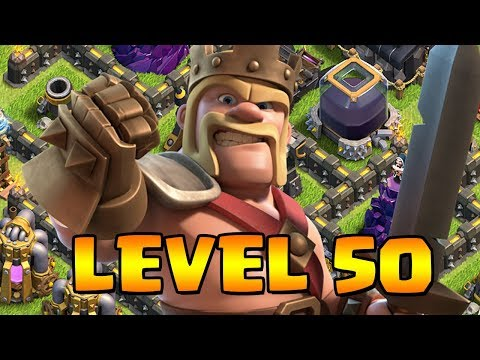 LEVEL 50 KING!  TH11 Farm to Max HIGHLIGHTS Clash of Clans