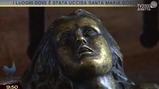Il luogo dove è stata uccisa Santa Maria Goretti
