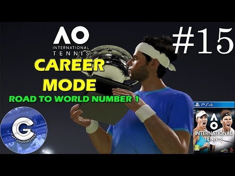 Let's Play AO International Tennis | Career Mode #15 | Brisbane Open | Round 1