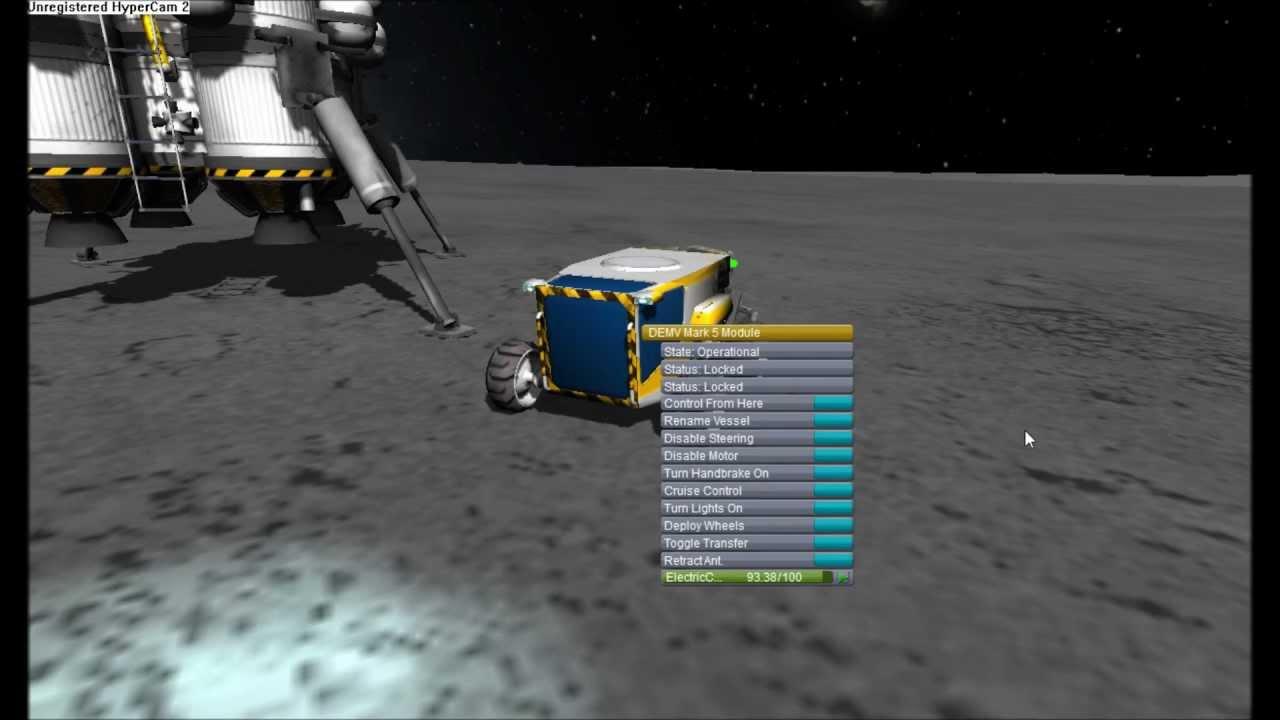 KSP mission munaire avec rover