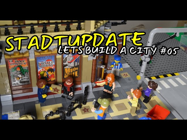 STADTUPDATE | Let's build City #05 | Laying tiles forever 😅