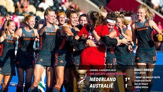 WK 2018 - Halve finale - Nederland verslaat Australië na shoot-outs!