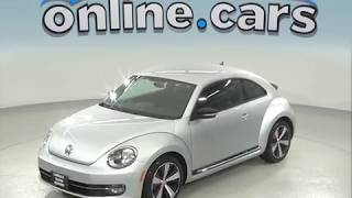 C97364NC Used 2012 Volkswagen Beetle 2.0 TSi 2D Hatchback Silver Test Drive, Review, For Sale