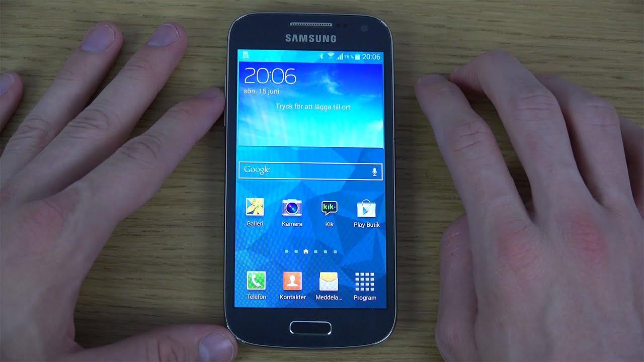 Обзор Samsung Galaxy S4 Mini Duos (review): флагман в миниатюре .
