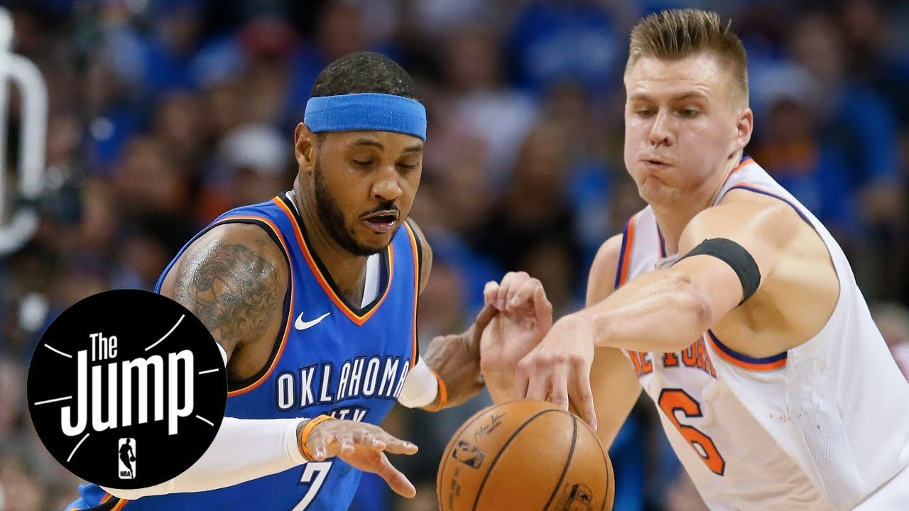 2845f7072 Scottie Pippen  Kristaps Porzingis is better off without Carmelo Anthony