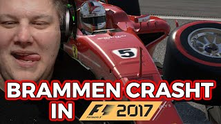 Brammen CRASHT sein F1-Comeback!