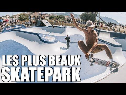 Les plus beaux skatepark du monde !