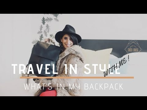 what-is-in-my-leather-backpack-|-travel-in-style---melbourne-australia
