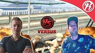 [GTA5] IN GEVECHT MET CROMOTAG EN ZIJN CREW!! | Funnies & Fails Compilation #1