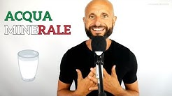 Why Do Italians Drink Bottled Water -  Italian Listening Practice [Video in Italian]