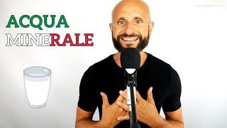 Why Do Italians Drink Bottled Water -  Italian Listening Practice [Video in Italian]
