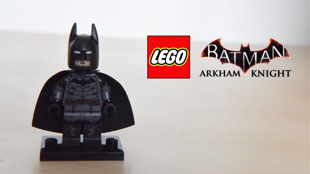 Lego custom batman arkham knight ver youtube