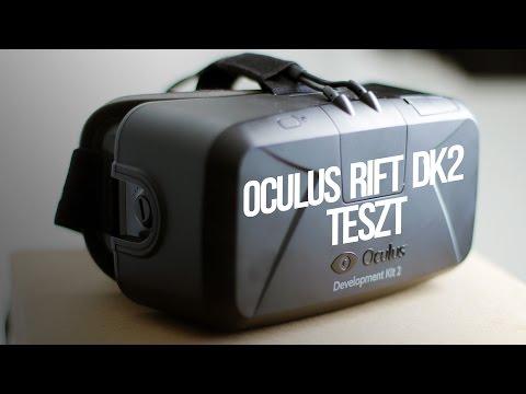 Oculus Rift DK2 - Bemutató