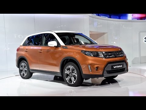 new 2015 suzuki vitara suv paris motor show youtube. Black Bedroom Furniture Sets. Home Design Ideas