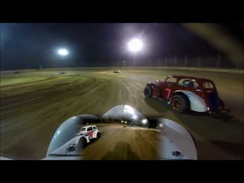 20180525 Moler Raceway Park Legends Feature Race