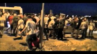 Repeat youtube video Settlers Attack Israeli Activists and Palestinian Farmers near Anatot 30 9 2011