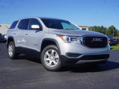 2018 GMC Acadia SLE-1 Review/Test Drive