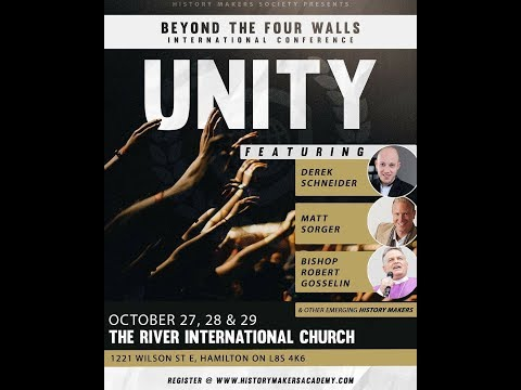 Beyond the Four Walls Conference - Friday Evening, October 27, 2017.