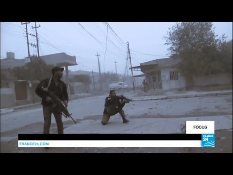 Иракский спецназ с большими потерями продвигается в Мосуле. Русский перевод.