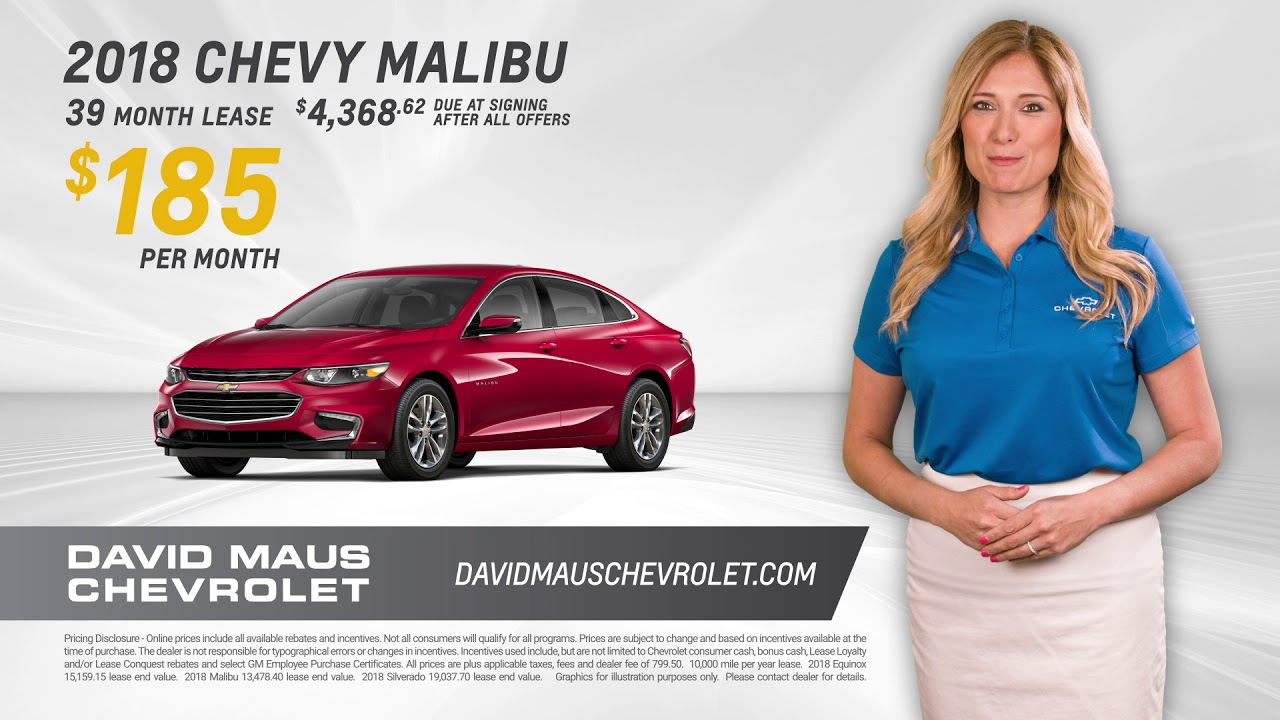 David Maus Chevy >> David Maus Chevrolet Offers Some Of The Lowest Prices In The Country