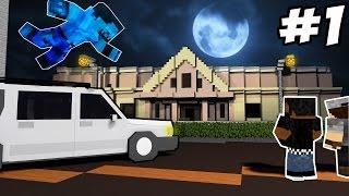 ОТЕЛЬ УЖАСОВ в Minecraft #1 - Авария Посреди Ночи