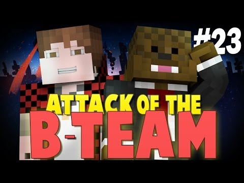 Minecraft Attack of the B-Team #23 - MITCH AND JEROME JOIN! - Minecraft Mod Pack Survival - 동영상