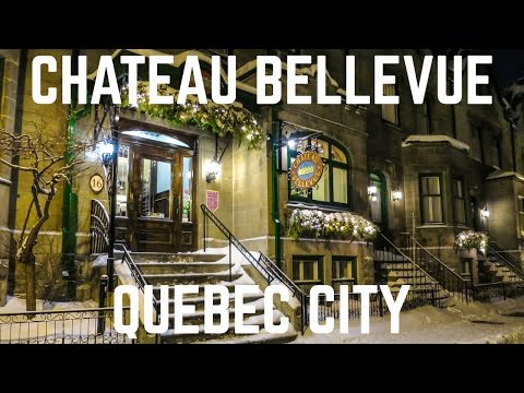 The Chateau Bellevue in Quebec City | Quebec Hotels