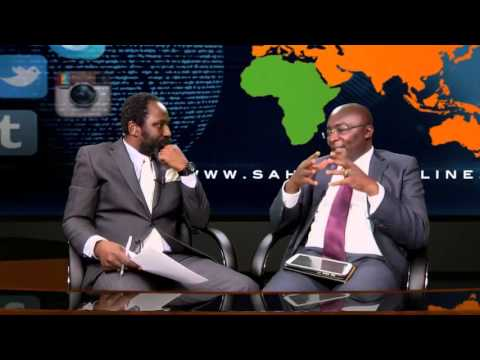 Dr  Mahamudu Bawumia Discusses Ghana's Recent IMF Bailout on Sahara TV  Part1