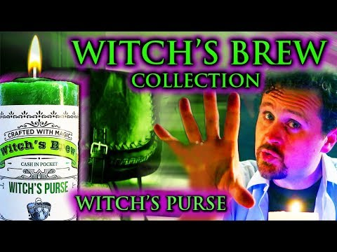 WITCH'S PURSE Candle - Crafted With Magic - Coventry Creations - Halloween - Part 2 of 4