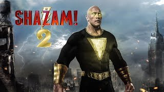 Shazam 2 info in Hindi ! Relation between Rock and Shazam ! Rock as Black Adam