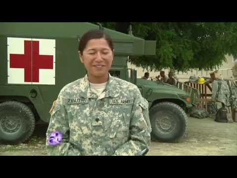 "U.S.  Army Reserve - Humanitarian Mission    "" Beyond the Horizon"""