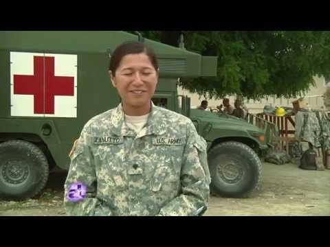 "U.S.  Army Reserve - Humanitarian Mission    "" Beyond The Horizon"""