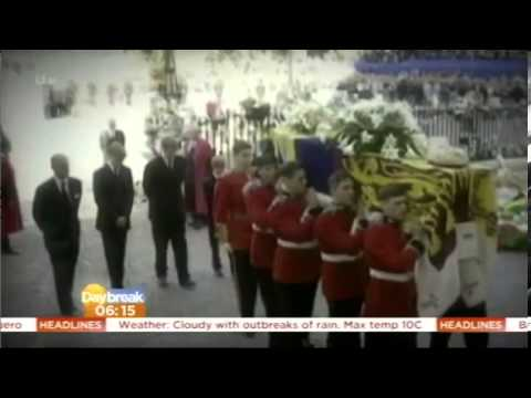 Baroness Thatcher's final journey